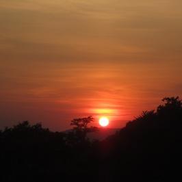 Sunset in Gubbio